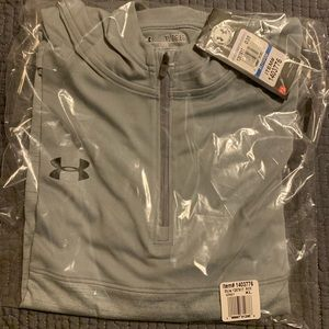 NWT Under Armour Tech 1/4 Zip Pullover Hoodie Gray